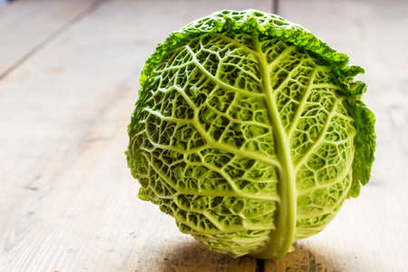 savoy: Savoy cabbage Stock Photo