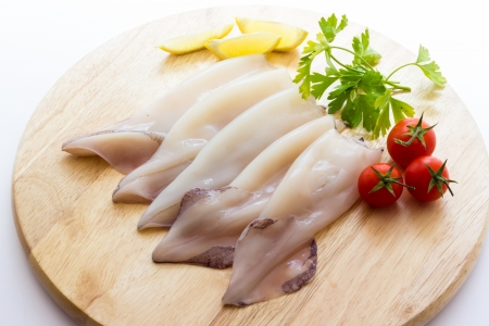 cuttlefish: Uncooked cuttlefish