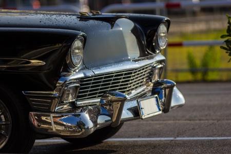 古くて魅力的な車 写真素材