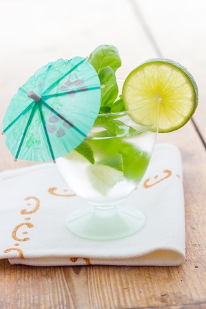Cold Mojito cocktail photo