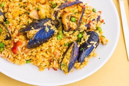 marisco: Paella