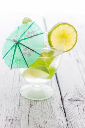 Cold Mojito cocktail photo