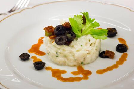 creamed: Creamed codfish