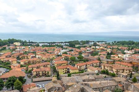 lazio: Bolsena City Lazio Italy