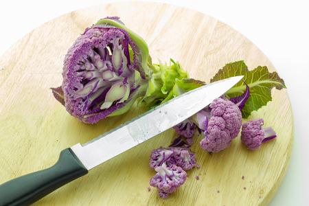 coliflor: coliflor p�rpura