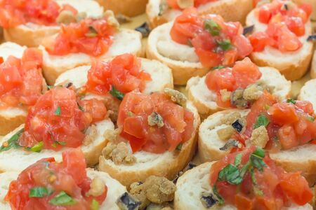 bruschetta: Bruschetta Stock Photo