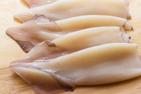 cuttlefish: Uncooked cuttlefish