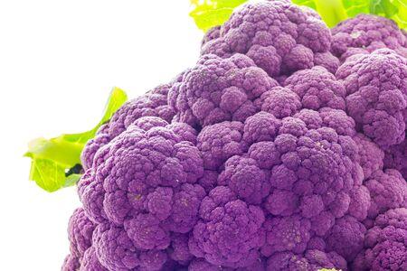 cauliflower: Purple cauliflower