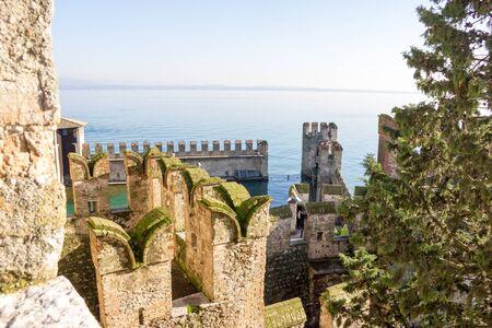 sirmione: Scaliger Castle Verona