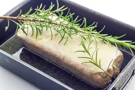 albondigas: Pastel de carne asada