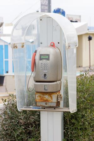 cabina telefonica: vieja cabina telef�nica