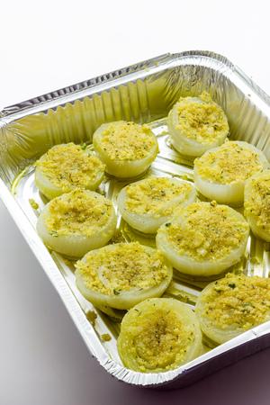 onion: Gratin de cebolla
