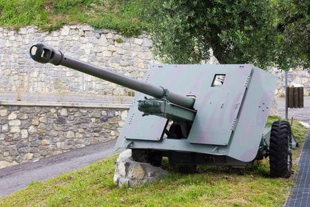 artillery: Cannon artillery Stock Photo
