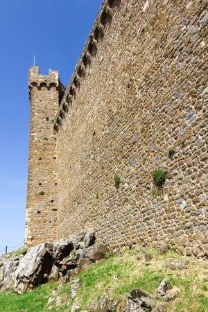 montalcino: Montalcino city Tuscany Italy