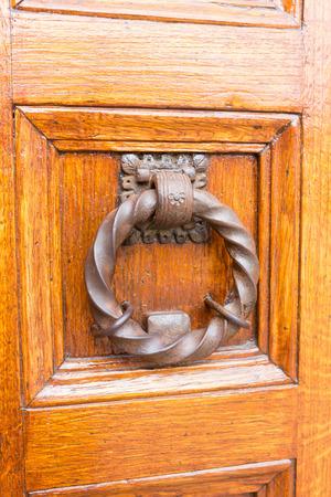 doorknocker: ancient doorknocker