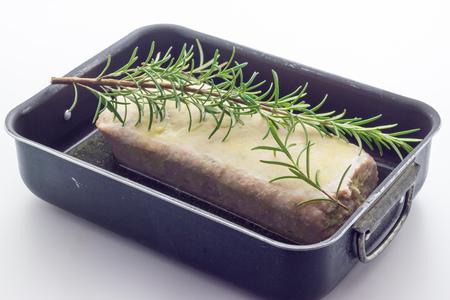 pastel de carne: Pastel de carne asada