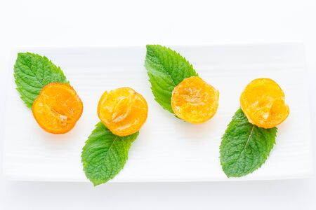 clementines: Mandarin candied clementines