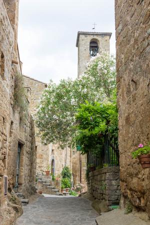 di: Civita di Bagnoregio Stock Photo