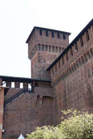 castello: Castello sforzesco Milano Editorial