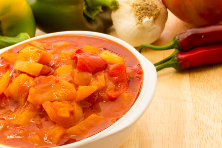 Italian peperonata Stock Photo