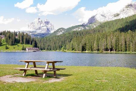 lake misurina: Misurina Lake