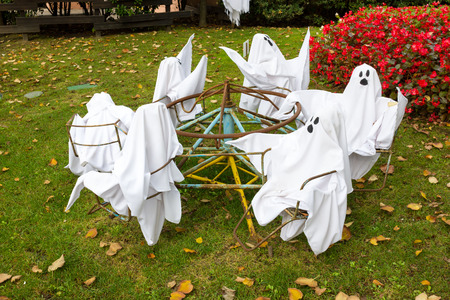 Ghosts for Halloween Party