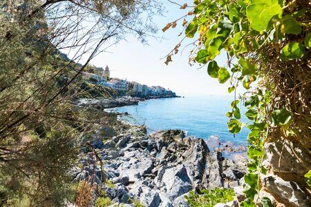 Cefalù Sicily Italy Stockfoto