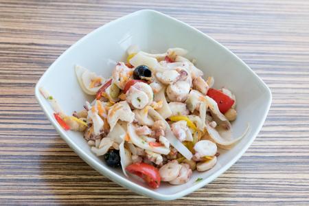 Cold fish salad