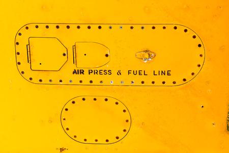 Fuselage detail