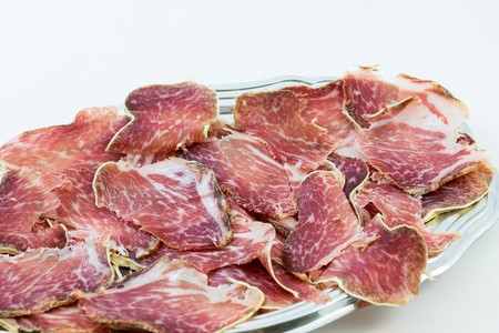 Italian salami called