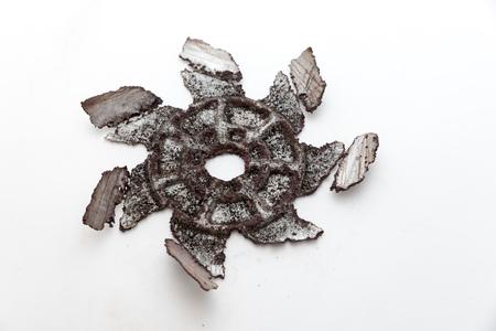 Rusty oven fan Banque d'images - 124646279