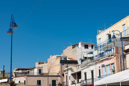 Crumbling Sicilian buildings