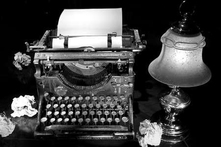 attempts: old typewriter