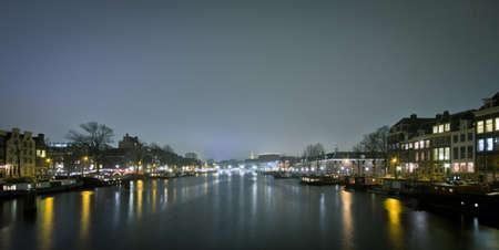 amstel: lights on the amstel