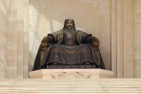 khan: dzjengis khan in Ulan Baator