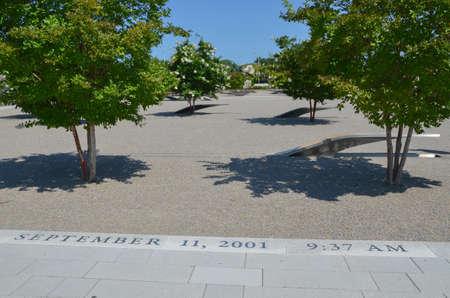 9-11 Pentagono Monumento Archivio Fotografico - 32306451