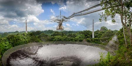 Arecibo à Porto Rico observatoire