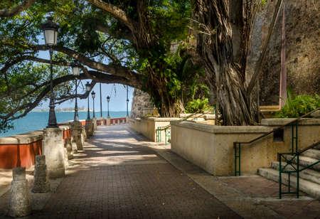 Paseo en San Juan Puerto Rico Foto de archivo - 40315965