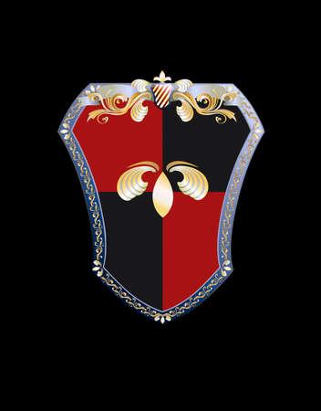 revivalism: Shield Illustration