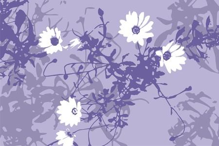 mauve: Grunge floral mauve background