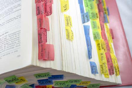 statute: Statute Book Stock Photo