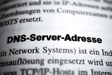 DNS Server Address photo