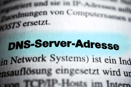 dns: DNS Server Address