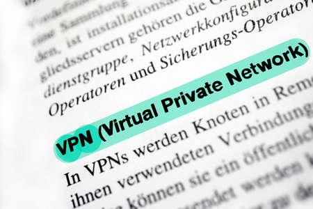 Virtual Private Network (VPN) photo