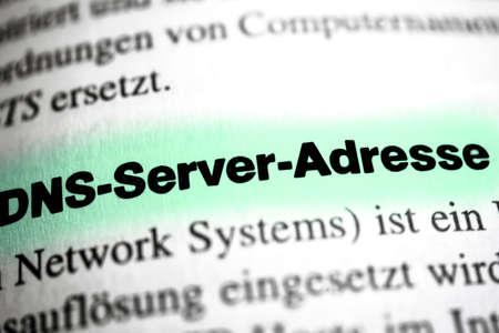 dns: DNS Server Address