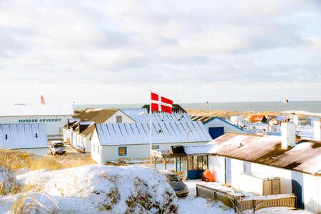 Fishing village in denmark