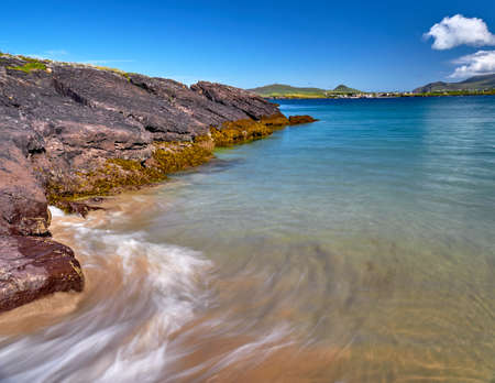 characterized: The Dingle coast is characterized by beautiful rock formations