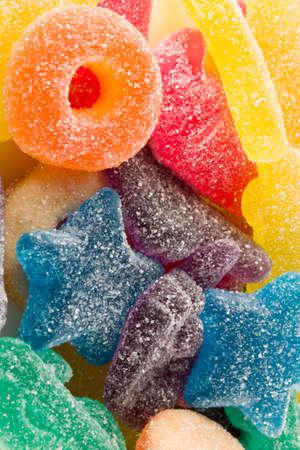 sparkling candies Stock Photo