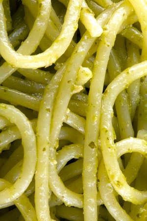 Spaghetti e pesto