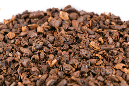 Crushed coffee Stockfoto - 108717877